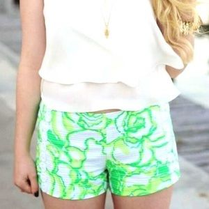 Lilly Pulitzer Floral Shorts